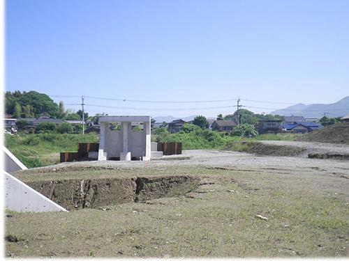 福地川護岸設置(3工区)工事施工前