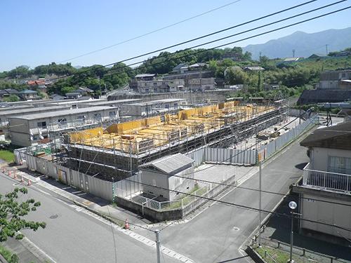 中泉市営住宅建築工事(1工区)