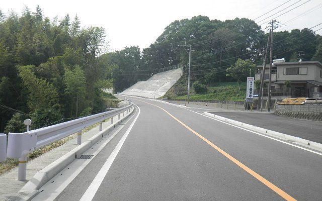 直方宗像線(植木工区)道路改良工事1工区