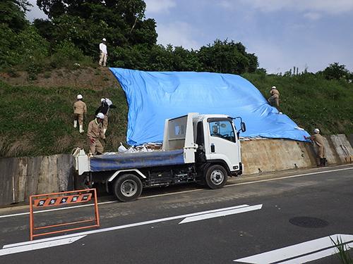 アメニティロード工事☆緊急掘削・土砂運搬工事 永満寺 完了報告